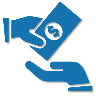 billing icon blue